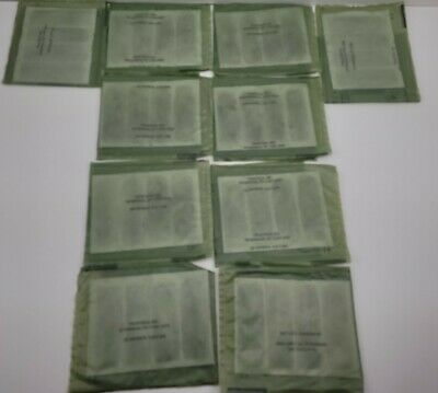 $17.99 • Buy 10 Flameless Ration Food Heaters FRH US Military MRE Meal Ready To Eat NOS