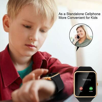 AU19.79 • Buy Smart Watch Activity Tracker Kids Wrist Phone Camera For Android Samsung IPhone
