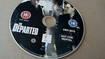 £2 • Buy The Departed (2006) Blu Ray (disc Only)