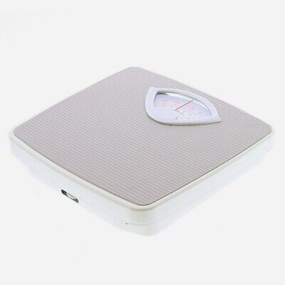 £14.95 • Buy Bathroom Mechanical Weighing Scales Accurate In Stones Kilo Max 130Kg/20st PVC