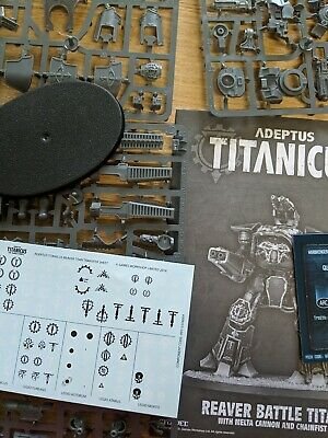 AU45.34 • Buy REAVER Titan With Melta Cannon, Volcano Cannon, Chainfist,WARHAMMER TITANICUS