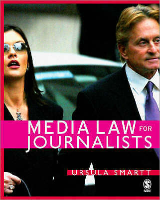 £5 • Buy Media Law For Journalists By Ursula Smartt (Paperback, 2006)