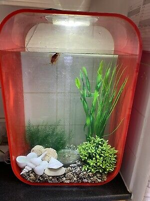 £175 • Buy Red Biorb Life 45l Fish Tank And Accessories