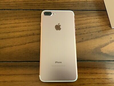 AU1.29 • Buy Apple IPhone 7 Plus - 128GB - Pink (Unlocked) A1784 (GSM)