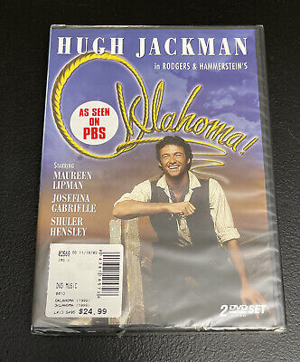 £16.99 • Buy HUGH JACKMAN Rodgers And Hammerstein's Oklahoma (DVD, 2003) NEW Sealed