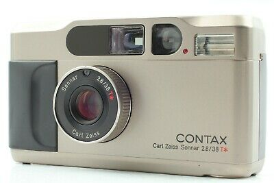 $ CDN1088.94 • Buy 【Exc+++++】 Contax T2 35mm Point & Shoot Film Camera Compact From JAPAN #1378
