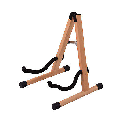 $ CDN42.99 • Buy Portable Wood Guitar Stand Solid Wood Folding A-shaped Guitar Stand For N4K9