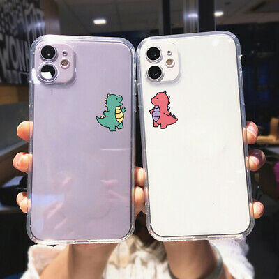 AU5.14 • Buy Cute Dinosaur Lover Soft Clear Case For IPhone 12 11 Pro Max XR Xs X 8 7 6s Plus