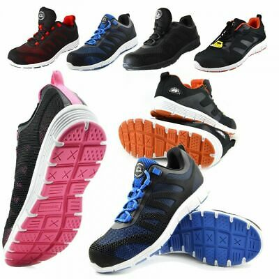 £19.99 • Buy Mens Lightweight Safety Trainers Grip Sole Steel Toe Work Chef On Site PPE Shoes