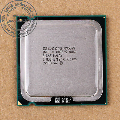$ CDN92.10 • Buy Intel Core 2 Quad Q9550S - 2.83 GHz (AT80569AJ073N) LGA 775 SLGAE CPU 1333 MHz