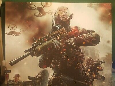 £2 • Buy Call Of Duty Warzone Digital Illustration Canvas Wall Art Picture Print