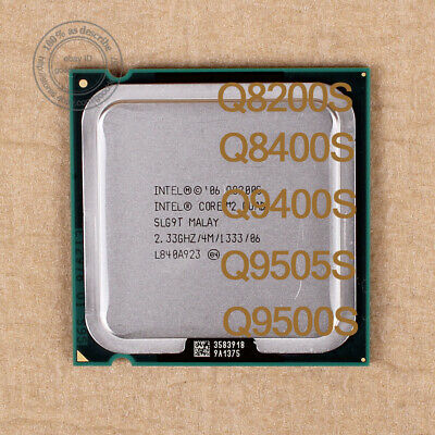 $ CDN24.89 • Buy Intel Core 2 CPU Q8200S Q8400S Q9400S Q9505S Q9550S LGA775 Processor