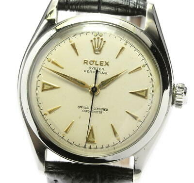 $ CDN2059.93 • Buy ROLEX Oyster Perpetual 3084 Antique Beige Dial Automatic Men's Watch_557760