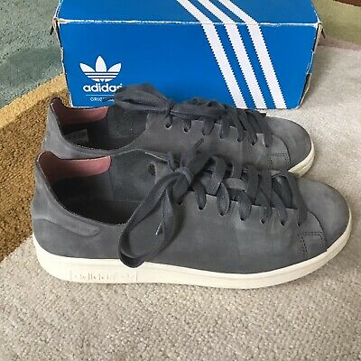 AU32.64 • Buy Adidas Stan Smith Originals Size Uk 5 Grey Suede Nuud Women's Trainers Shoes