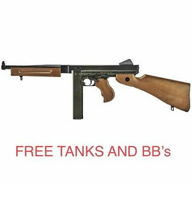 $199 • Buy LEGENDS Full Auto Air Rifle M1A1 Co2 Powered .177 BB Replica FREE TANKS AND BB's