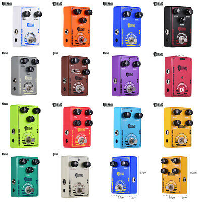 $ CDN34.85 • Buy Dolamo FUZZ Chorus Delay Guitar Effect Pedal True Bypass Fr Electric Guitar L1D7