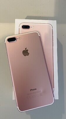 AU250 • Buy Apple IPhone 7 Plus 128GB (Model A1784) Rose Gold In Excellent Condition