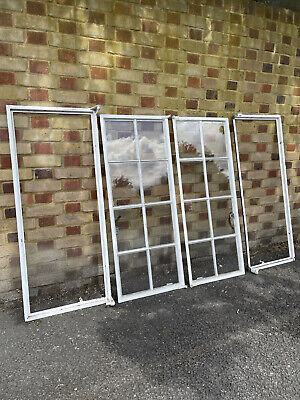 £115 • Buy Pair Of Reclaimed Old Art Deco Crittall Windows
