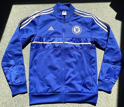 £19.99 • Buy Rare Vintage Chelsea Tracksuit Top Gold Football Shirt Soccer Jersey Adidas
