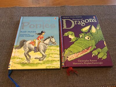 £4.50 • Buy Usbourne Young Readers Stories Of Ponies And Stories Of Dragons Age 5-7