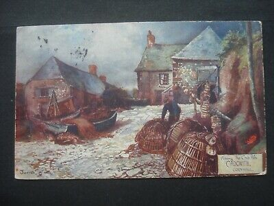 £0.99 • Buy Used Edwardian Colour Post Card Cadgwith, Cornwall