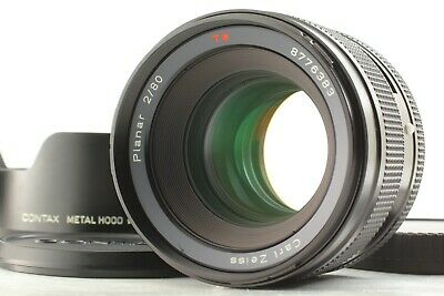 $ CDN3871.72 • Buy 【 MINT W/ HOOD 】 Contax Carl Zeiss Planar T* 80mm F/2 Lens For 645 From JAPAN