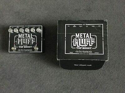 $ CDN51.14 • Buy Metal Muff With Top Boost Guitar Effects Pedal U