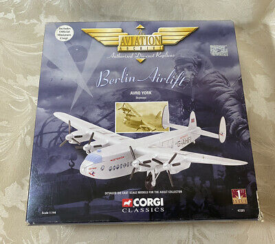 £14.99 • Buy CORGI 47201 BERLIN Airlift Avro York Skyways SCALE 1:144 - Boxed - Complete