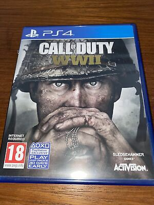 £2.36 • Buy Call Of Duty: WWII PlayStation 4 PS4 Game