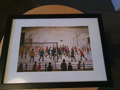 £7.99 • Buy L.s Lowry   The Football Match  Framed Print