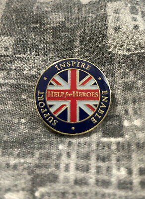 £0.99 • Buy Help For Heroes Lapel Pin Badge Inspire Enable Support