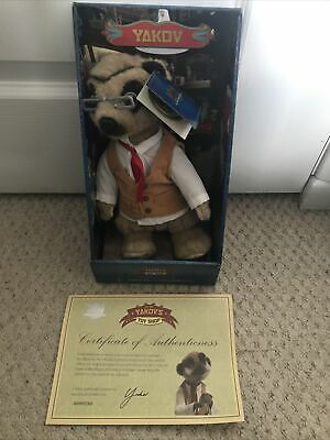 £6.50 • Buy Yakov Compare The Meerkat Toy With Box And Certificate