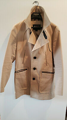 $90 • Buy Mens Mackage Trench Coat Size 38 Mens Small