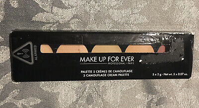 £25.99 • Buy Make Up For Ever 5 Camouflage Cream Palette Shade No 03