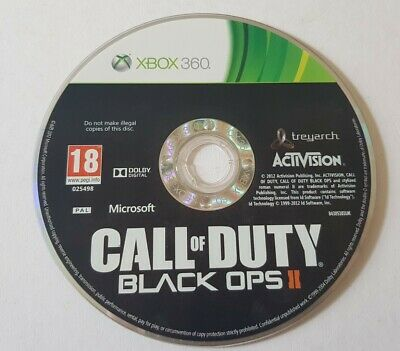 £8.95 • Buy Call Of Duty Black Ops Ii 2 Two  Microsoft Xbox 360 Game War Shooter Action