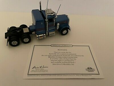 $ CDN15.67 • Buy Matchbox Collectibles Kenworth W900 KS194A W/COA