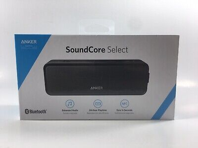AU42.47 • Buy Anker SoundCore SELECT Bluetooth Speaker - Black - A3106