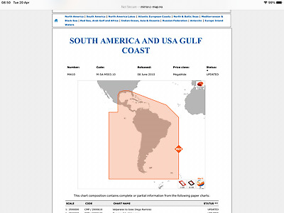 £82 • Buy  C Map Nt Max 2008 All  South And Central America,carribean