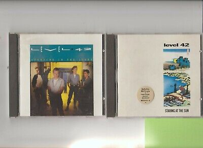$ CDN6.63 • Buy Level 42 : Staring At The Sun + Standing In The Light / TWO CD Albums