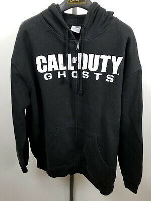 £14.16 • Buy A1 Call Of Duty Ghosts Long Sleeve Black Zip Up Hoodie Size XL Mens Video Game