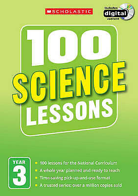 £14.99 • Buy 100 Science Lessons: Year 3 By Malcolm Anderson (2014) Scholastic With CD-ROM