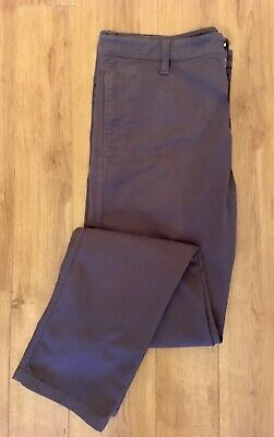 £15 • Buy Men's MURPHY & NYE Grey Chino Cotton Trousers W38 L36 Great Condition