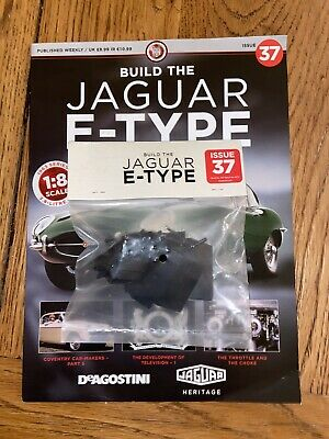 £14.95 • Buy Deagostini Build Your Own 1/8th Jaguar E- Type Issue 37