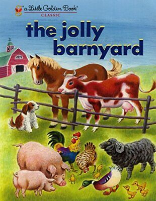 £5.17 • Buy The Jolly Barnyard Little Golden Books Random House