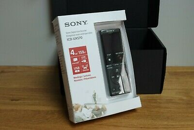 £65 • Buy NEW SONY ICD-UX570 Digital Dictation Machine Voice Recorder ICDUX570