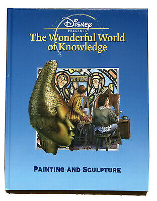 £6.99 • Buy Disney Presents The Wonderful World Of Knowledge Painting And Sculpture Book