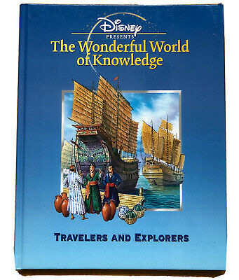 £6.99 • Buy Disney Presents The Wonderful World Of Knowledge Travellers And Explorers Book