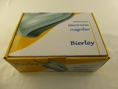 £44.95 • Buy Bierley Handheld Electronic Magnifier. Connects To TV Via Scart Lead.