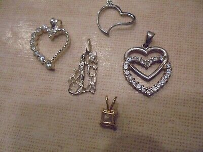 $ CDN22.99 • Buy Sterling Silver /   Charms/pendants   Mixed Jewelry      Lot    Wear Resell
