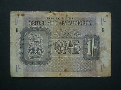 £5.95 • Buy **Album Filler ** '1s'  British Military Authority  Issue 'R' 1s Banknote***